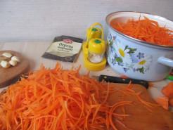 Морковка по-корейски ПП - фото приготовления рецепта шаг 2