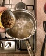 Суп с фасолью и капустой - фото приготовления рецепта шаг 5