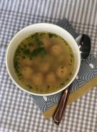 Куриный суп с фрикадельками - фото приготовления рецепта шаг 7