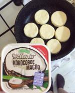 ПП Сырники - фото приготовления рецепта шаг 4