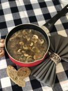 Куриный суп с шампиньонами - фото приготовления рецепта шаг 4