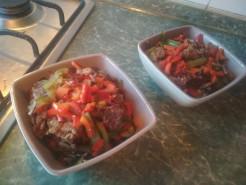 Горячее с киноа и овощами - фото приготовления рецепта шаг 4