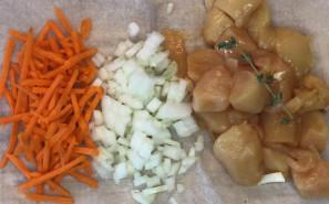 Суп из куриных грудок - фото приготовления рецепта шаг 2