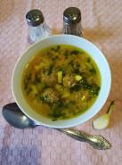 Кюфта-бозбаш по-азербайджански с фрикадельками - фото приготовления рецепта шаг 8