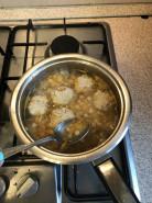Суп с фрикадельками с вермишелью - фото приготовления рецепта шаг 7