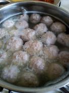 Суп с фрикадельками из индейки - фото приготовления рецепта шаг 5