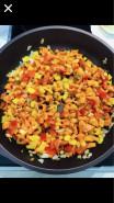 Жареные баклажаны с очень вкусной начинкой - фото приготовления рецепта шаг 2