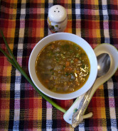 Суп с тыквой и чечевицей - фото приготовления рецепта шаг 7