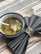 Куриный суп с вермишелью и картошкой - фото приготовления рецепта шаг 11
