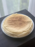 Блинчики с курицей и рисом - фото приготовления рецепта шаг 1