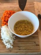Куриный суп с вермишелью - фото приготовления рецепта шаг 3