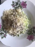 Кускус с огурцами и редькой - фото приготовления рецепта шаг 4