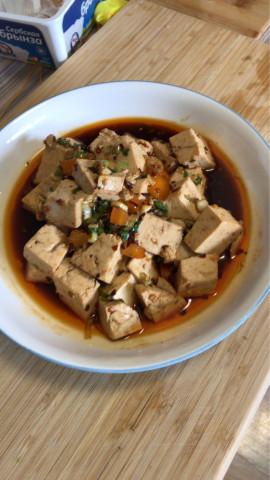 Салат из тофу - фото приготовления рецепта шаг 1