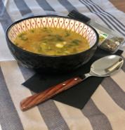 Куриный суп с перловкой - фото приготовления рецепта шаг 4