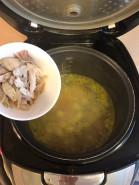 Куриный суп в мультиварке - фото приготовления рецепта шаг 4