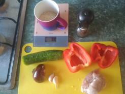 Горячее с киноа и овощами - фото приготовления рецепта шаг 1