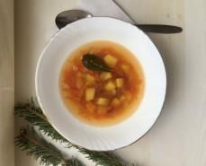 Суп из консервированной фасоли в томатном соусе - фото приготовления рецепта шаг 5