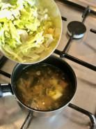 Куриный суп с капустой - фото приготовления рецепта шаг 4