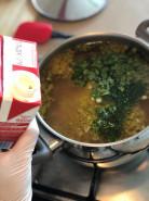 Куриный суп c плавленым сыром - фото приготовления рецепта шаг 3