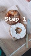 Бейгл с авокадо и яйцом - фото приготовления рецепта шаг 1