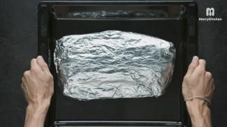Треска с овощами - фото приготовления рецепта шаг 4