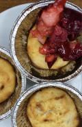 Пирожное из рисовой муки с ягодами - фото приготовления рецепта шаг 12