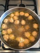 Куриный суп с фрикадельками - фото приготовления рецепта шаг 5