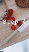 Бейгл с авокадо и яйцом - фото приготовления рецепта шаг 3