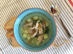 Суп куриный с картофелем - фото приготовления рецепта шаг 5