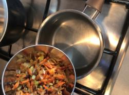 Фасолевый суп с копченостями - фото приготовления рецепта шаг 3