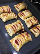 Слойки с клубникой - фото приготовления рецепта шаг 4
