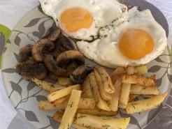 Сытный и вкусный завтрак - фото приготовления рецепта шаг 7