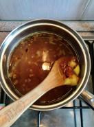 Суп из консервированной фасоли в томатном соусе - фото приготовления рецепта шаг 4