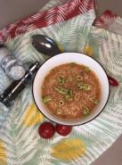 Суп фасолевый с томатом - фото приготовления рецепта шаг 5