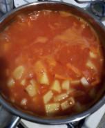 Суп фасолевый с томатом - фото приготовления рецепта шаг 4