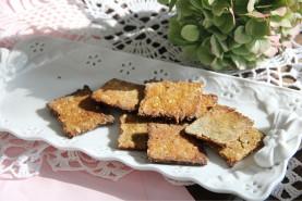 Крекер из амарантовой муки - фото приготовления рецепта шаг 2