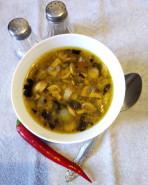 Суп с фрикадельками и грибами - фото приготовления рецепта шаг 6