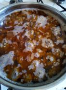 Суп с фрикадельками с чечевицей - фото приготовления рецепта шаг 5