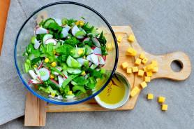 Салат из шпината и сельдерея - фото приготовления рецепта шаг 8