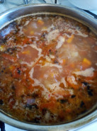 Суп томатный с вермишелью - фото приготовления рецепта шаг 6