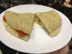 Овсяноблин с сыром и помидором - фото приготовления рецепта шаг 6