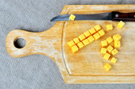 Салат из шпината и сельдерея - фото приготовления рецепта шаг 7