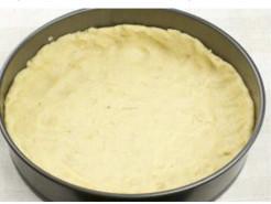 Творожная ватрушка с яблочным пюре - фото приготовления рецепта шаг 6