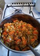 Суп-пюре из чечевицы - фото приготовления рецепта шаг 3