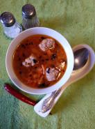 Суп с фрикадельками из индейки - фото приготовления рецепта шаг 7