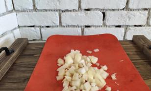 Жареная куриная печень с луком - фото приготовления рецепта шаг 1