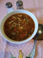 Суп с чечевицей и картофелем - фото приготовления рецепта шаг 8