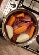 Фасолевый суп с говядиной - фото приготовления рецепта шаг 1
