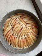 Воздушная творожная шарлотка - фото приготовления рецепта шаг 7