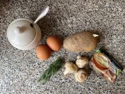 Сытный и вкусный завтрак - фото приготовления рецепта шаг 1